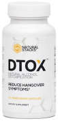 DTOX - Natural Hangover Recovery Formula - 60 ct - Stop Hangovers Before They Start