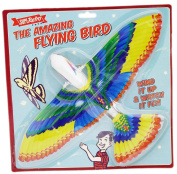 The Amazing Flying Bird Super Retro Wind Up Toy 40cm Wingspan ~ Colour Vary