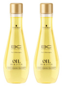 BC Bonacure OIL MIRACLE Light Oil Treatment, 100ml , 2 Count