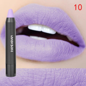 Nacome New Waterproof Long Lasting Liquid Matte Lipstick Makeup Lip Gloss Lip