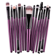 BeautyPatio 15pcs Studio Professional Premium Cosmetic Makeup Brushes Set #12