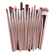 BeautyPatio 15pcs Studio Professional Premium Cosmetic Makeup Brushes Set #9