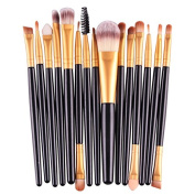 BeautyPatio 15pcs Studio Professional Premium Cosmetic Makeup Brushes Set #6