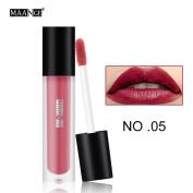 New Fashion Lipstick, Hunzed 12 Colours Fashion Lipstick Matte Lip Gloss Lipstick Party Sexy Lip Cosmetic Beauty Makeup