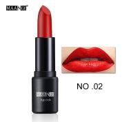 New Fashion Lipstick, Hunzed Women 12 Colours Bright Moisturising Lip Gloss Lipstick Long Lasting Sexy Lip Gloss Cosmetic Beauty Makeup