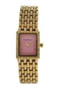 Jean Bellecour Reds25-Gp Gold Stainless Steel Bracelet Watch Watch For Women 1 Pc