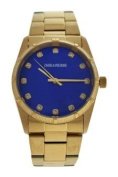 Zadig & Voltaire Zvf220 Blue Dial/gold Stainless Steel Bracelet Watch Watch For Unisex 1 Pc