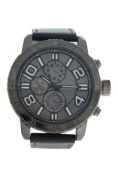 Antoneli Ag1905-01 Grey Leather Strap Watch Watch For Men 1 Pc