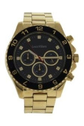 Louis Villiers Lvag5877-10 Gold Stainless Steel Bracelet Watch Watch For Men 1 Pc