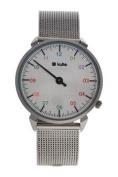 Kulte Ku15-0010 Silver Rainbow Stainless Steel Mesh Bracelet Watch Watch For Unisex 1 Pc