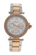 Antoneli Al0519-03 Silver/rose Gold Stainless Steel Bracelet Watch Watch For Women 1 Pc