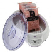 Fleur De Spa Paraffin Warmer with 1.8kg True Peach Wax