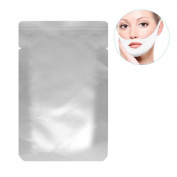 V Zone Facial Gel Pad, 10 Pack Face Care V-shape Chin Line Contour Lifting Up Firming Moisturising Mask