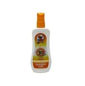 Australian Gold SPF 30+ Spray Gel, 240ml + FREE Schick Slim Twin ST for Sensitive Skin
