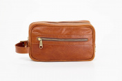 Clava Santa Fe Leather Toiletry Case, Tan