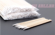 Microblading Tattoo Supply Cotton Swabs Pointed Q-Tip Makeup Cosmetic Applicator