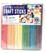 Wood Sticks Jumbo Colour