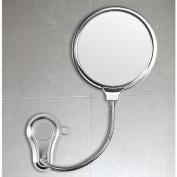 Gedy 2 Faced Shatterproof Polished Steel Bathroom Mirror HO08-13