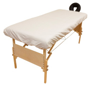 Arcadia© Organic Percale Massage Table Fitted Sheet