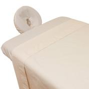 Arcadia© Organic Percale Massage Table Sheet Set