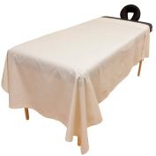 Arcadia© Organic Percale Massage Table Flat Sheet