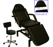 InkBed Hydraulic Lift Tattoo Bed with Artist Chair Ink Bed Studio Equipment