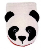Organic Cotton, Washcloth Mitt Panda Bear Puppet, Child Size, by Furnis