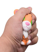 Vibola Kawaii Sweet Cartoon Tiger Slow Rising Scented Decor Fun Amazing Toy Squishy Slow Rising Kids Toy Doll Bread Cake