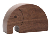 Unique Elephant Shape Wooden Music Box Melody Carrying You from Castle in the Sky