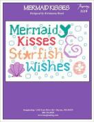 Mermaid Kisses Cross Stitch Chart (No. 3119) and Free Embellishment