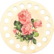 Buratini Thread Organiser 13Cm-Pink Roses