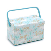 Hobby Gift 'Unicorn Dash' Sewing Box with Fold Over Lid 16.5 x 29 x 18cm