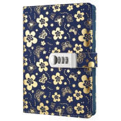 Yakri Stationery Notebook Password With Lock Diary Book Creative Password Diary Handbook Notepad Locking Journal Diary TPN102