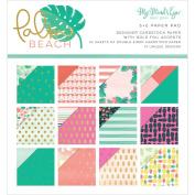 My Mind's Eye MYMPBH110 Palm Beach Paper Pad 6x6