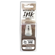 Brea Reese Raw Umber Watercolour Ink, Brow Umber