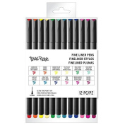 Brea Reese Fine Liner Pens, Brights