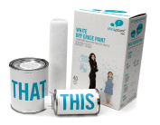 IdeaPaint HOME - White Dry Erase Paint Kit, 3.7sqm