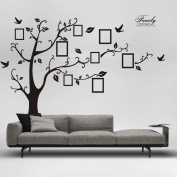 Wall Stickers,3D DIY Photo Tree PVC Wall Decals Adhesive Wall Stickers Mural Art Home Decor