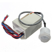 Quickbuying Mini PIR Motion Sensor Detector for 12V DC Timer Relay Automotive Caravan Alarm