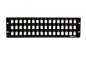 Keystone Blank Patch Panel - 48 Port - 3 RU
