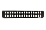 Keystone Blank Patch Panel - 32 Port - 2 RU