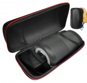 FitSand (TM) Zipper Travel Portable Carry Protective Hard Case Cover Box for Bose SoundLink Revolve Bluetooth Speaker
