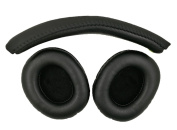 Replacement Earpads + Headband for Turtle Beach - Ear Force XO Seven Pro Premium Gaming Headset-Xbox One