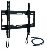 WALI WL-TTM-1 Tilting TV Wall Mount Bracket for Most 70cm - 140cm LED LCD OLED & Plasma Flat Screen TVs