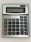 Electronic Desktop Calculator with 12-digit Extra Large Display