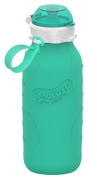 Squeasy Sport 470ml Silicone Collapsible Bottle - Aqua