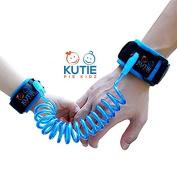 KUTIE PIE KIDZ Child Anti-Lost Wrist Link Safety Walking Hand Belt Strap for Toddlers and Kids, Rope/Leash/Harness, 1.8m