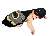 Little Kiddo Newborn Baby Boy Crochet Costume Photography Props Cartoon Knitting Hat Bow Infant Photo Props Outfits Suit