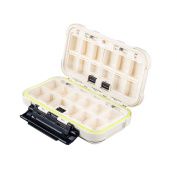 Double-Sided Fishing Tackle Boxes Fishing Lure Plastic Boxes Hook Baits Box Large Capacity Bait Storage Fishing Tackle Boxes with Many Separated Case Organiser