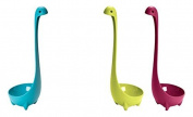 KINGZHUO 3 Pcs Of Nessie Spoon Creative Cute Dinosaur Plastic Serving Spoon Kitchen Bar
